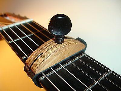 Flamenco Classical Guitar Cejilla Capo Zebra Wood Traditional Model Violao