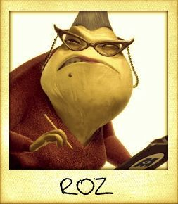 Roz - Monsters Inc - Hufflepuff | All Of Disney | Monsters