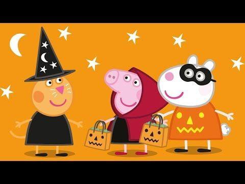 peppa pig halloween episode