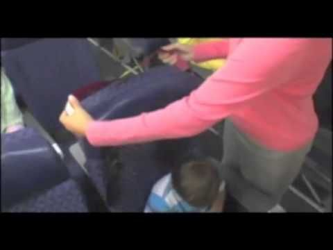 5-point harness for airplane seats (once too big for a lap) Kids Fly