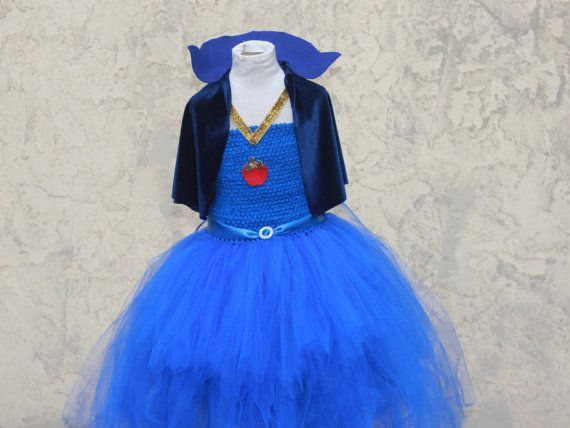 Disney Descendants Evie Inspired Tutu Dress Evie Costume Descendants Costumes Evie Descendants