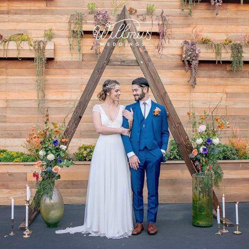 Triangle Wedding Arch: Triangle A-Frame Arch In 2019