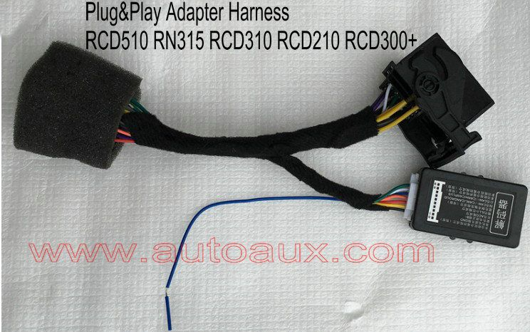 Longate Plug&Play Adapter harness with Can-bus simulator for VW