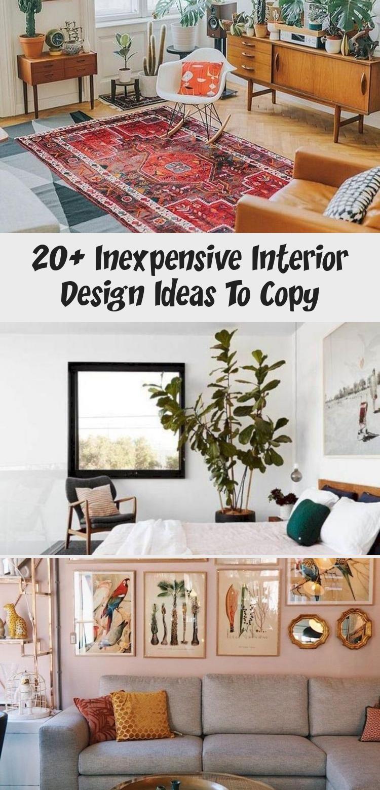 20 Inexpensive Interior Design Ideas To Copy Interior Design