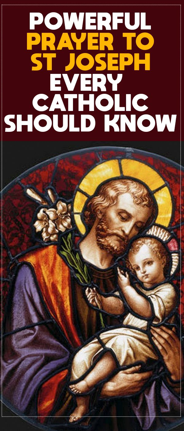 Powerful Prayers to St. Joseph Every Catholic Should Know ...