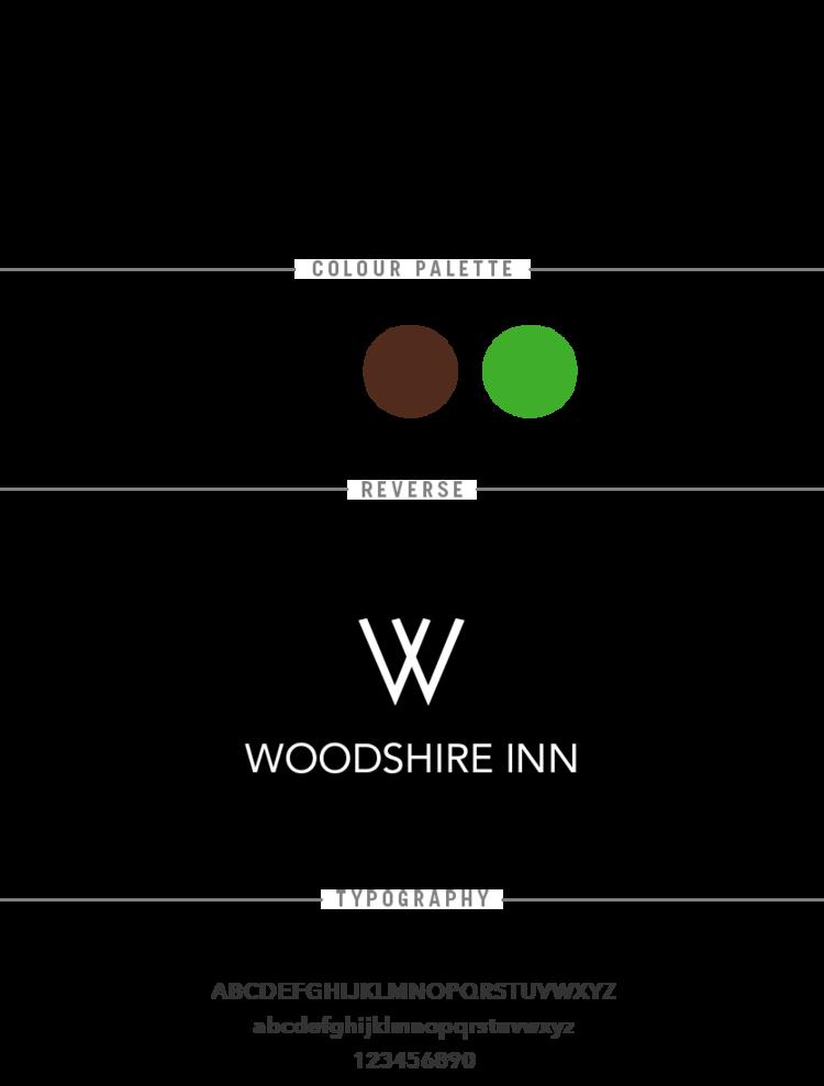 Woodshire Inn Bright Red Creative Branding Web Design Graphic Design Halifax Creative Branding Branding Business Card Design