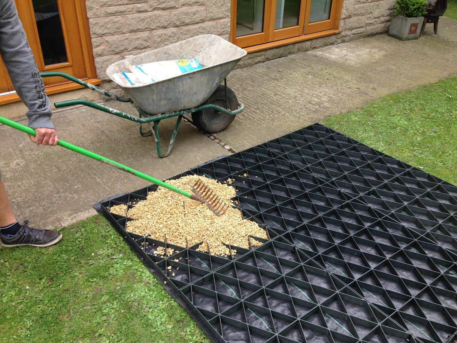 SHED BASE KIT + HD WEED FABRIC 6x4 8x6 10x6 10x8 12x6 GREENHOUSE ECO ...