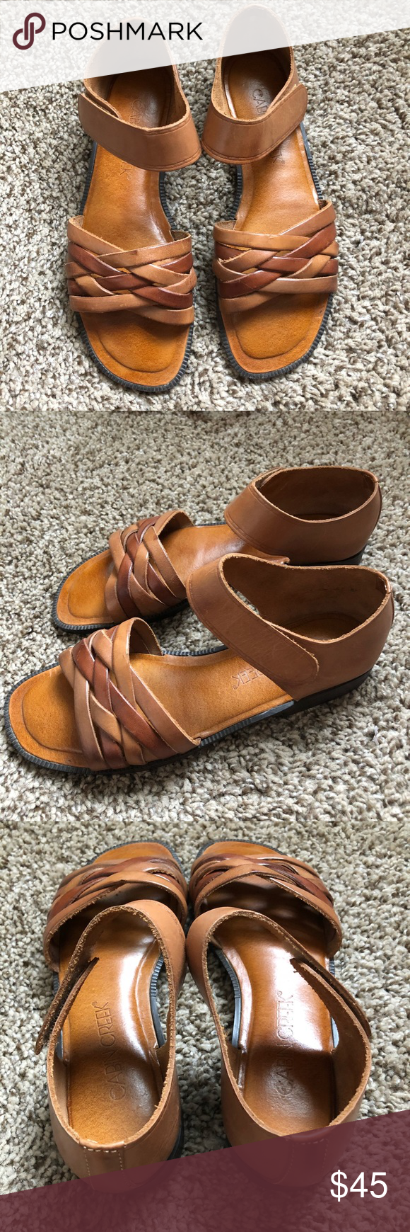 880c557c74ae Cabin Creek Sandals Made of leather. Size 8.5 made in Brazil brand new! Cabin  Creek Shoes Flats   Loafers