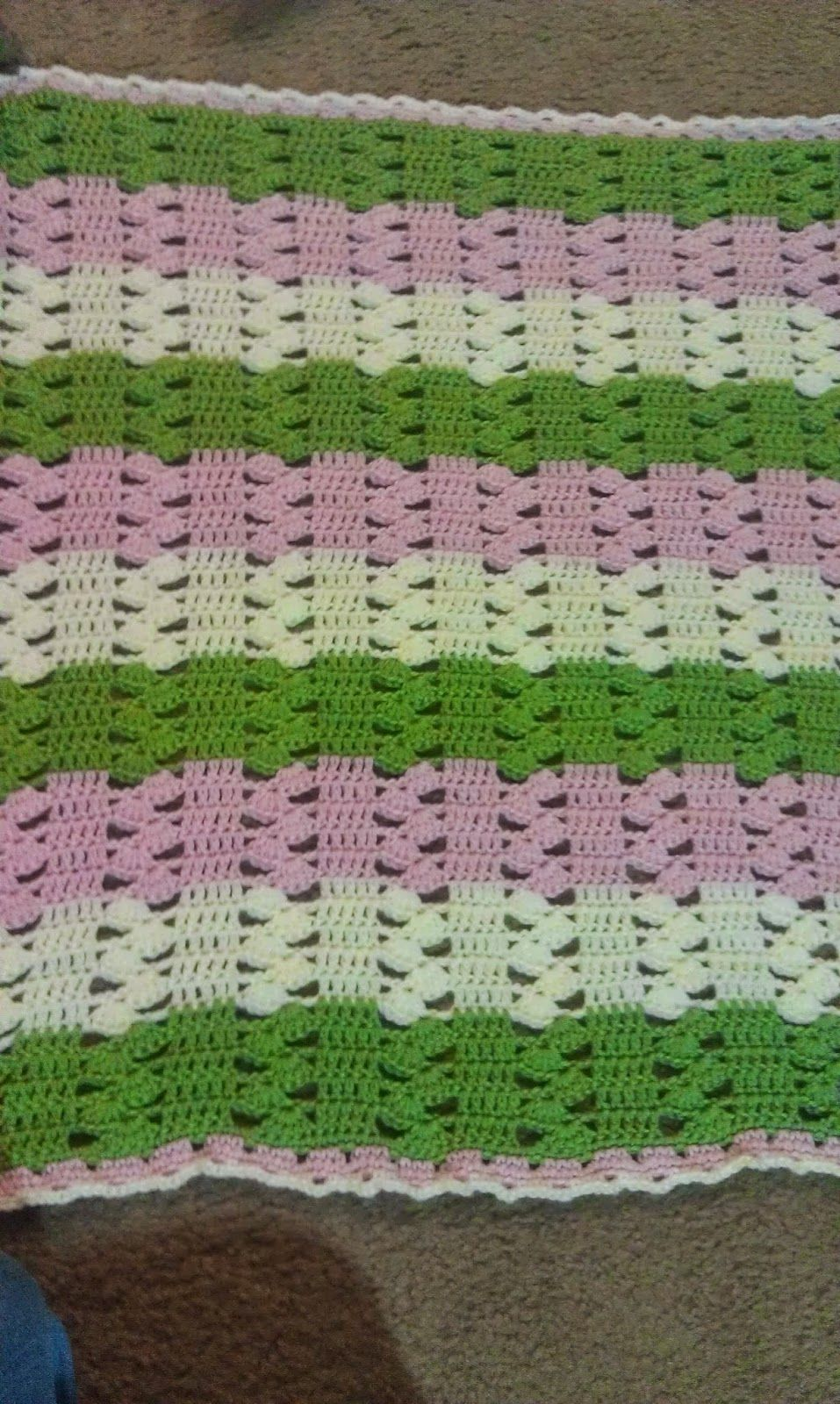 Light & Lacy Crochet Baby Blanket | Free Crochet Patterns ...