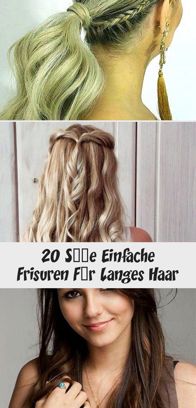 9 Süße Einfache Frisuren Für Langes Haar - DE in 99  Long hair