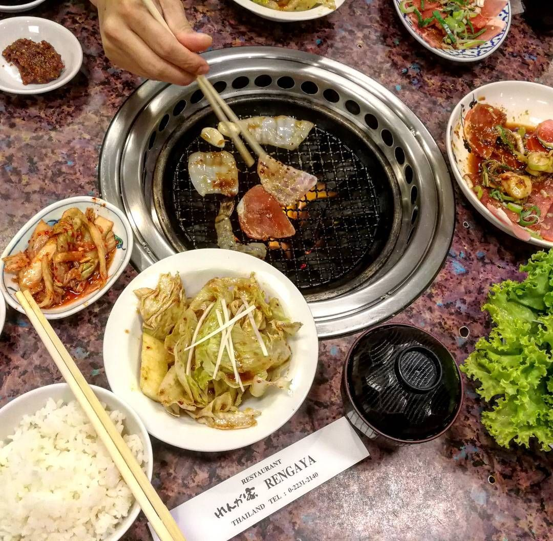 YAKINIKU at Rengaya Silom Road... #food #foodphoto #晚餐 #아침식사 #朝食 #ランチ #夕食 #早餐 #맛있는 #旅遊 #旅 #레스토랑 #餐廳 #음식 #食 #foodphotography #wongnai #tripadvisor #travelthailand #aroii #foodporn #instafood #foodstagram#foodblogger #foodies