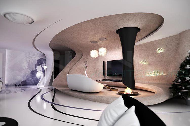 طراحی معماری و دکوراسیون داخلی ساختمان