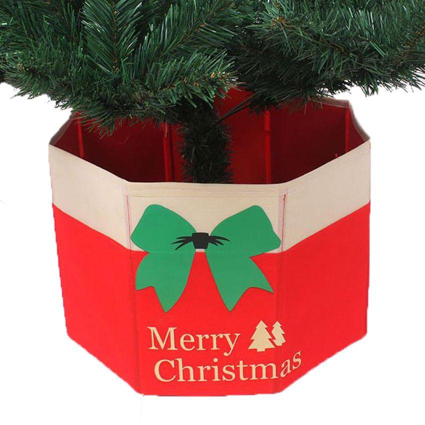 Foldable Tree Skirt Box Merry Christmas Tree Decorative Root Box Trees Skirt Creative Xmas Decorations Navi Xmas Decorations Christmas Tree Box Merry Christmas