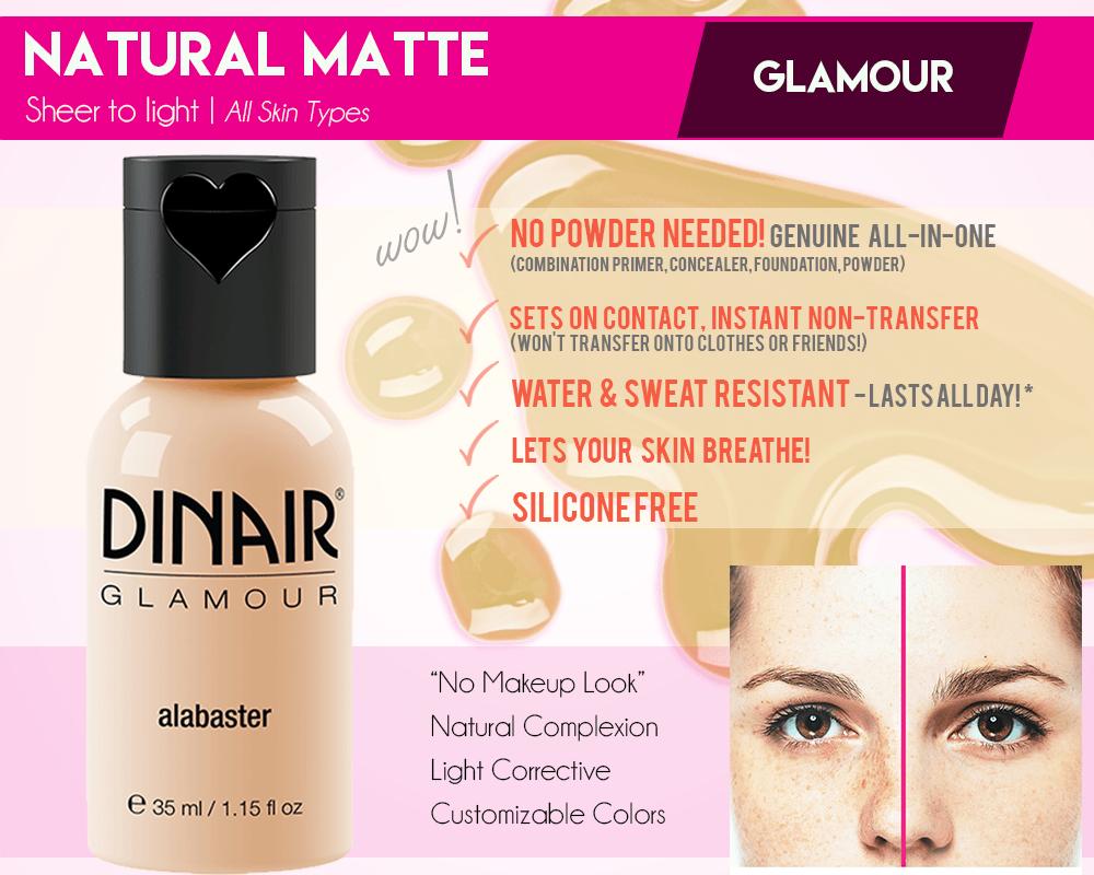 Glamour Dinair Airbrush Makeup Airbrush makeup system
