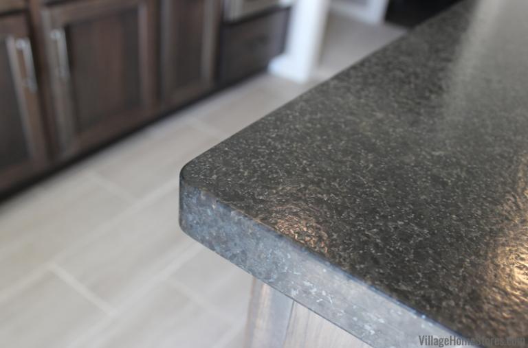 Matte Black Granite Counters In Brushed Finish Black Pearl Wet Bar At Home Store Black Pearl Granite