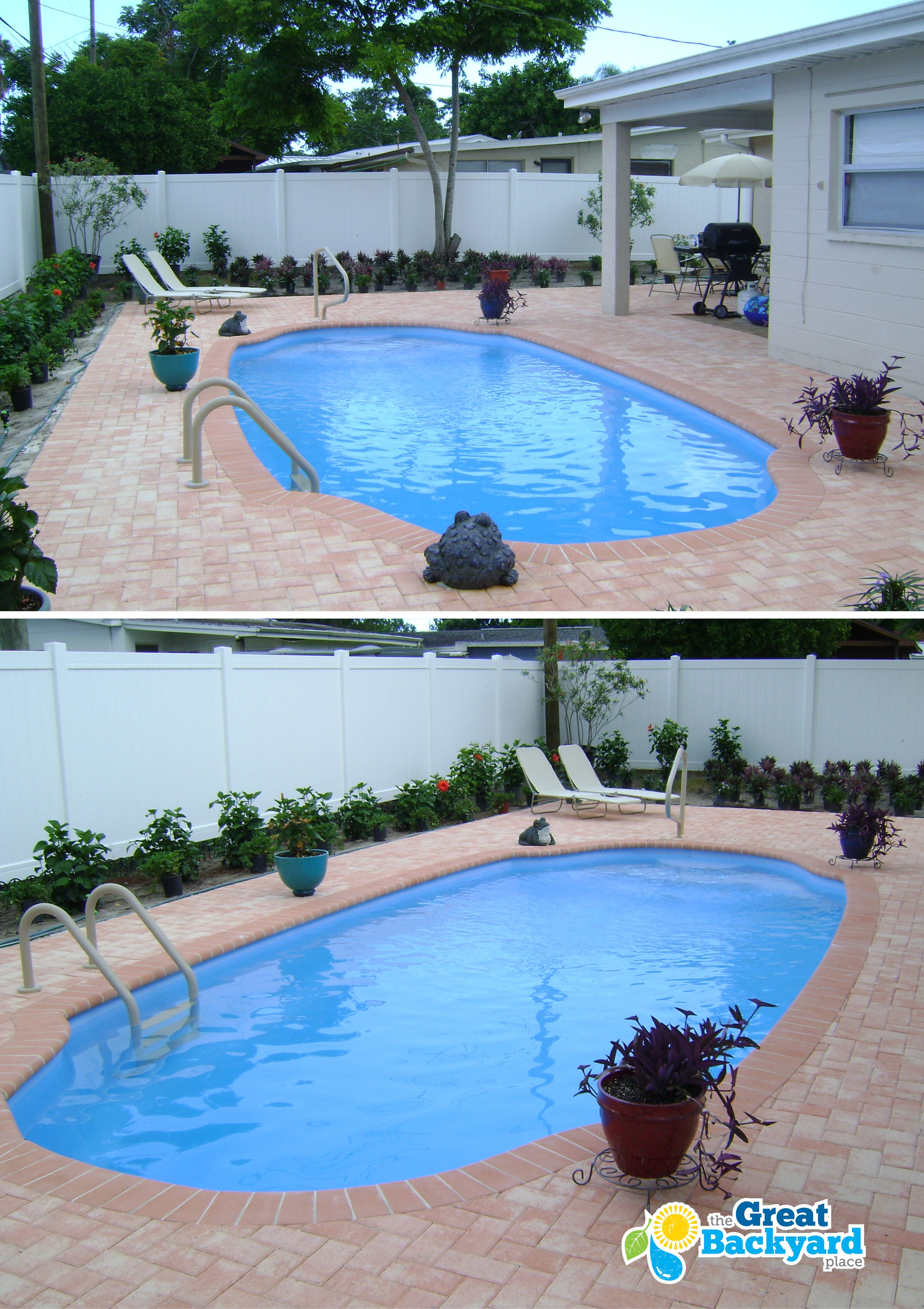 Affordable In Ground Fiberglass Pools and Professional Installation ...