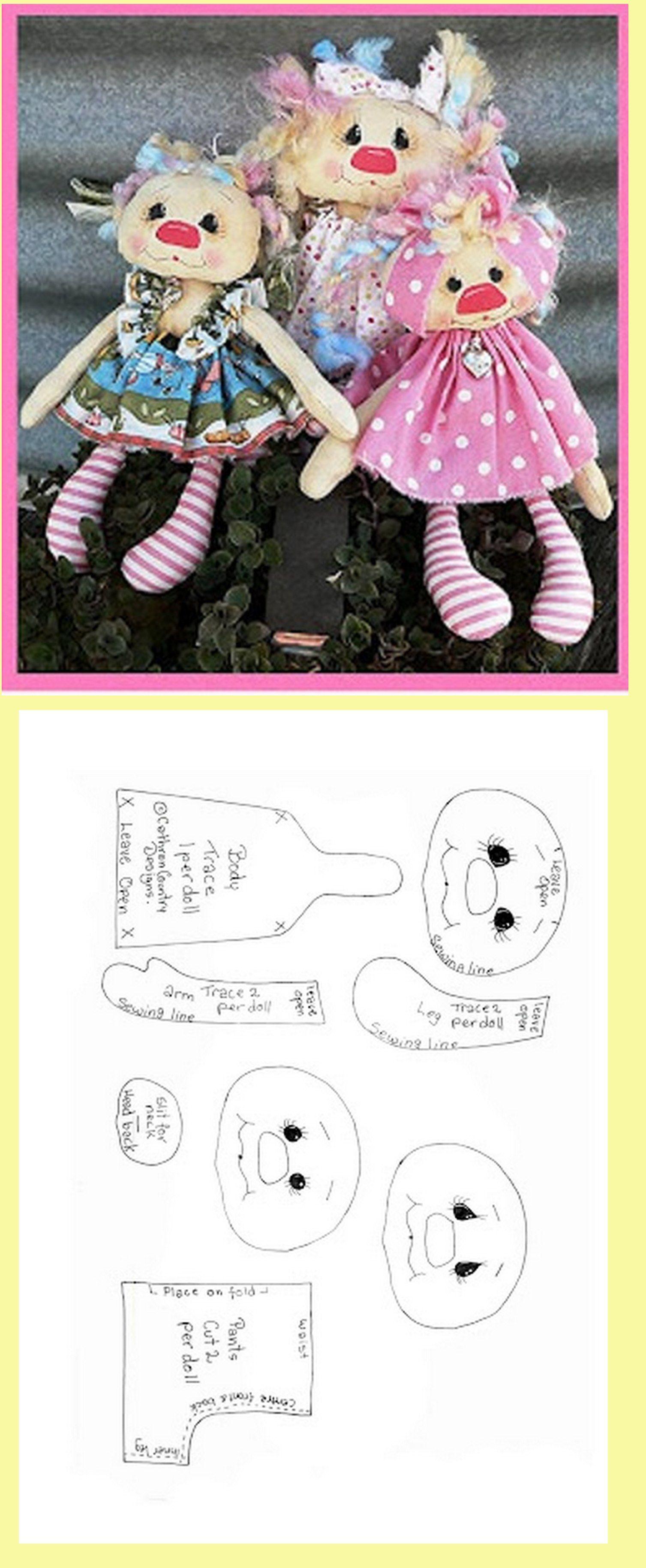 Doll pattern !!! Kopf & Körper GUUT !!! | Nähen | Pinterest | Kopf ...