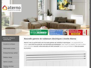 Découvrez la nouvelle gamme de radiateurs électriques Aterno ainsi que leurs caractéristiques exceptionnelles