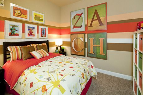Zach's Room! To view a 2-minute video on the latest trends in design for children's rooms by the award-winning designer of this room, visit http://www.youtube.com/watch?v=npxr_5j9WFI