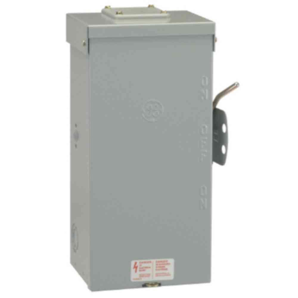 Emergency Power Transfer Switch Non Fused Generator Manual Ge 100 Amp 240 Volt 313030888877 Ebay In 2020 Transfer Switch Emergency Power Safety Switch