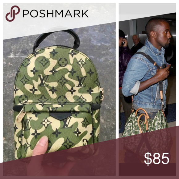 Designer Luxury Paris Camo Backpack Coming Up Limited Edition 85 Bags Backpacks Camo Backpack Camo Patterns Clothes Design