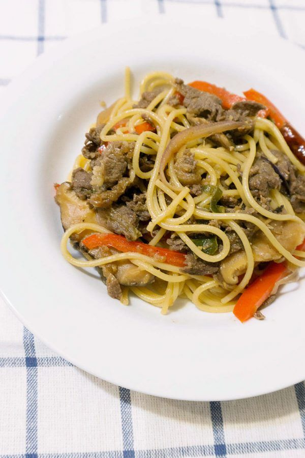 Bulgogi Spaghetti Aglio Olio | chopsticks and flour ...
