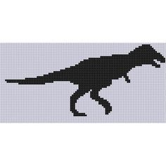 Dinosaur 5 Cross Stitch Pattern