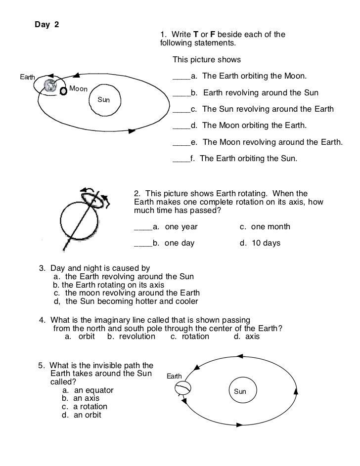 Image Result For Earth Moon Sun Worksheets 3rd Grade Science