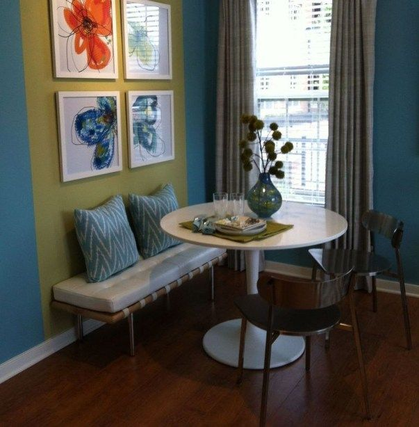 Small Dining Area Ideas: Comfy Dining Room Ideas For Small Space 40