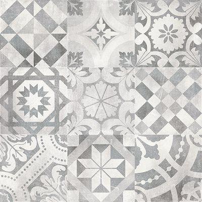 Pavimento Ceramico Decorado 60x60cm Newstreet Twenties Leroy Merlin Bathroom Inspo Interior Design Decor Floor Patterns