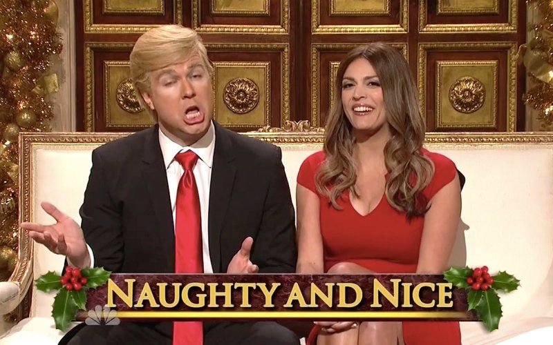 SNL's Donald Trump Wishes Everyone But Muslims a Very Merry ...