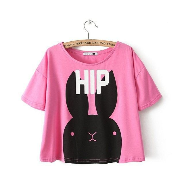 Hip Bunny Crop Top
