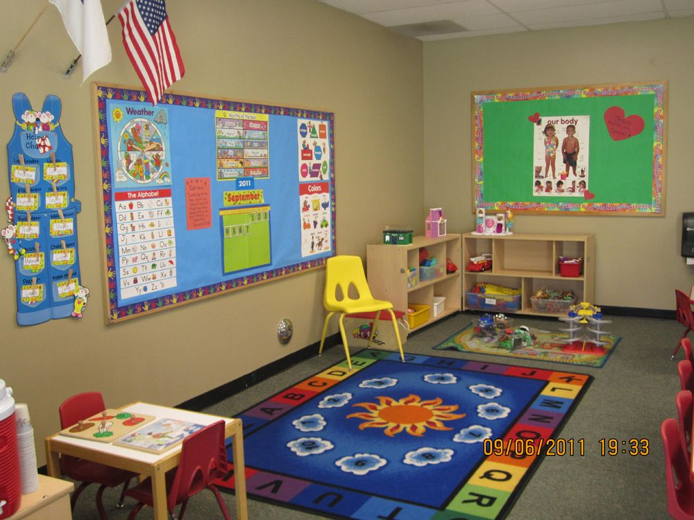 Preschool design three year old classes our pre school for Three room set design
