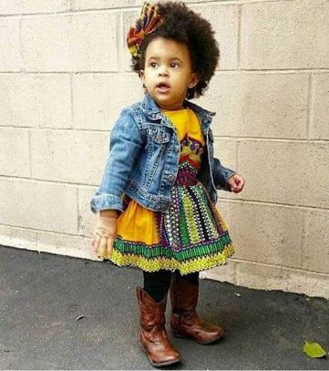 children's fashion african print - Google Search