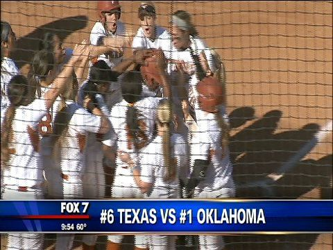 UT Softball Little Match For Top-Ranked OU In Series Opener - http://austin.citylocalbuzz.com/ut-softball-little-match-for-top-ranked-ou-in-series-opener/-    In a battle of top ten teams, 6th-ranked Texas lost the first game of a huge weekend series to top-ranked Oklahoma, 6-1, Friday at McCombs Stadium. Dennis de la Pena has the highlights.    KTBC  Local Sports