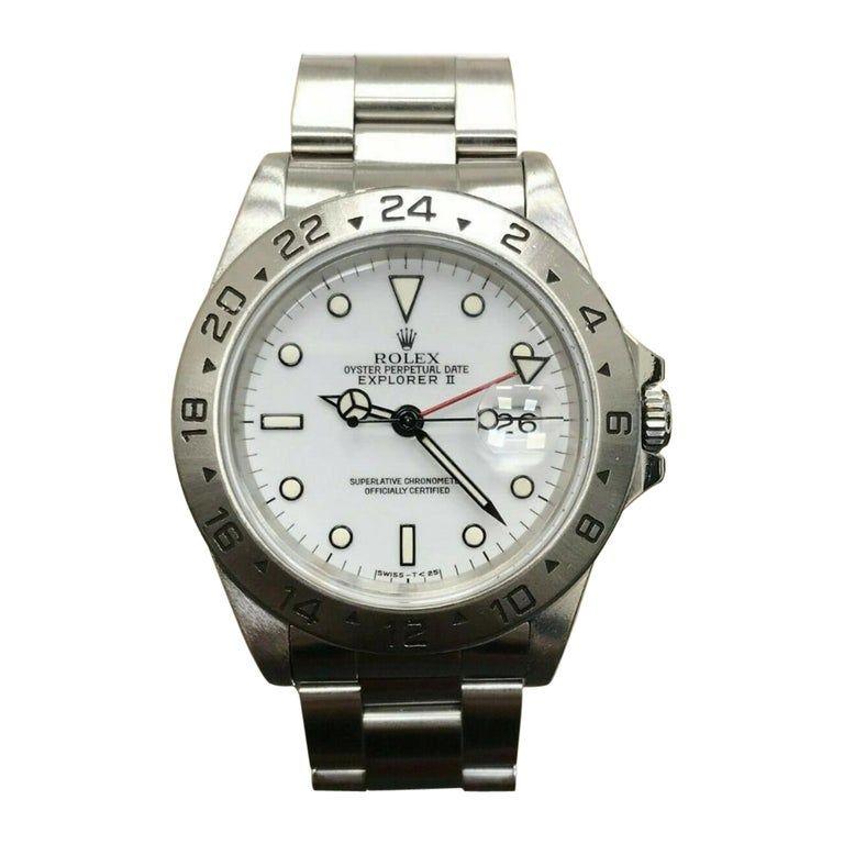 Rolex Explorer Ii 16570 Dial Certified Warranty Contemporary