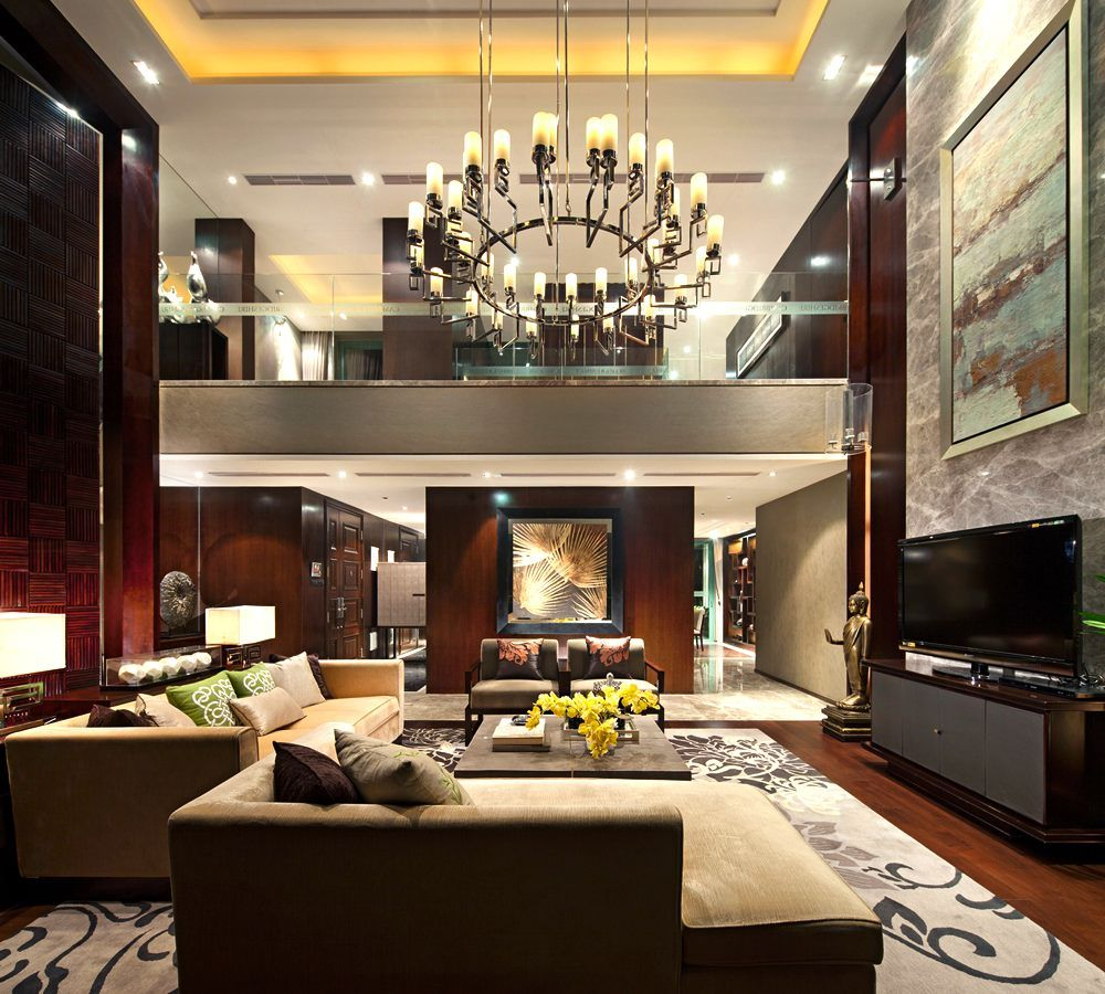 Luxury Living Room Interior Design Ideas: Excellent Luxurious Living Room Designs