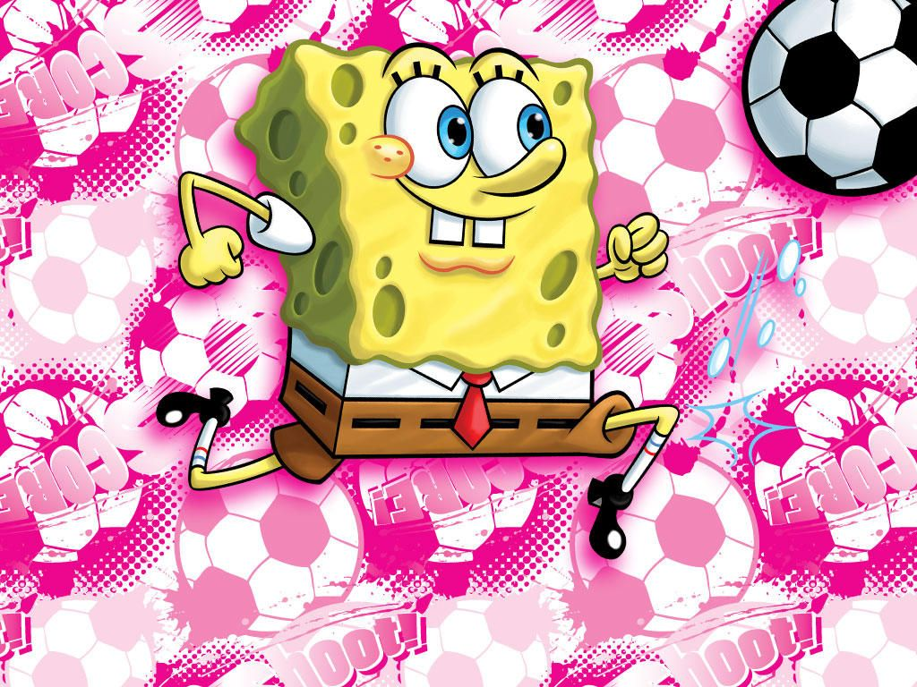 SpongeBob doesn't get that spongy physique without some