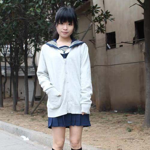 Women's Cardigans, school sweater Spring 100% V-neck multicolor