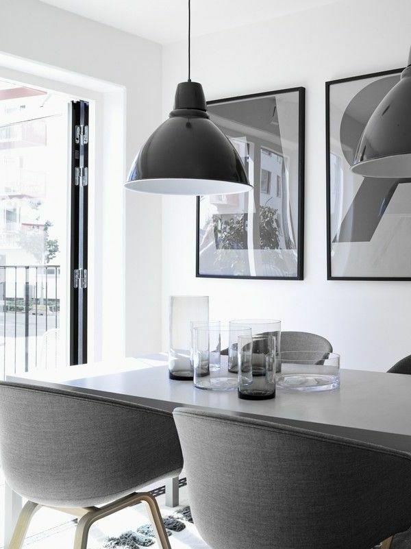 Inneneinrichtung Ideen. Trendfarbe Grau für das Innendesign ...