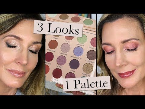 3 LOOKS 1 PALETTE | Colourpop All I See Is Magic - YouTube
