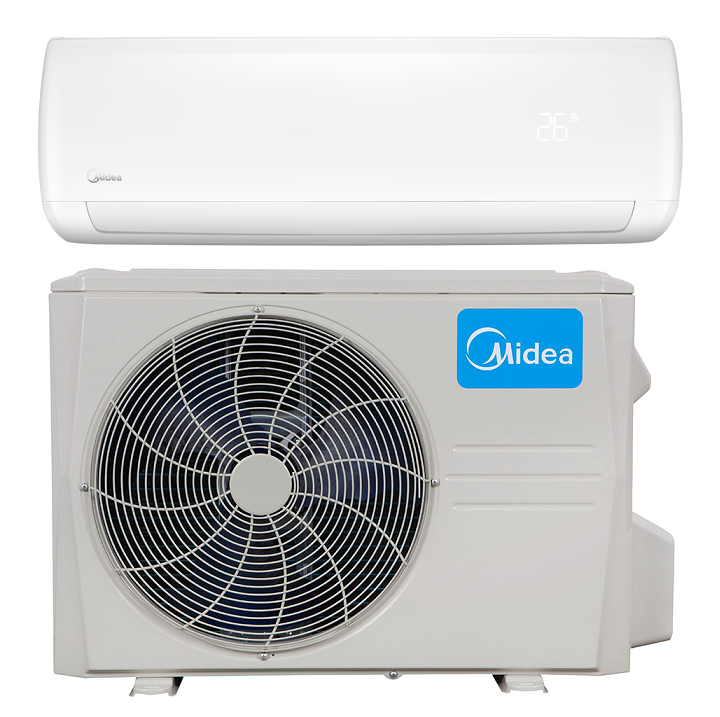 Hyper Heat Pump Ac In Minisplitwarehouse Com Get A Midea 9000 Btu 22 4 Seer 110v Premier Mini Sp Heat Pump Air Conditioner Ductless Mini Split Heat Pump System