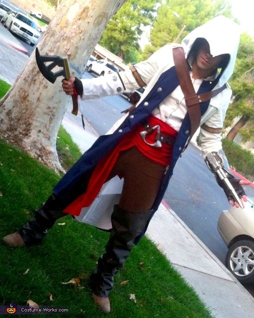 Connor Kenway Assassin S Creed Iii Halloween Costume Contest At