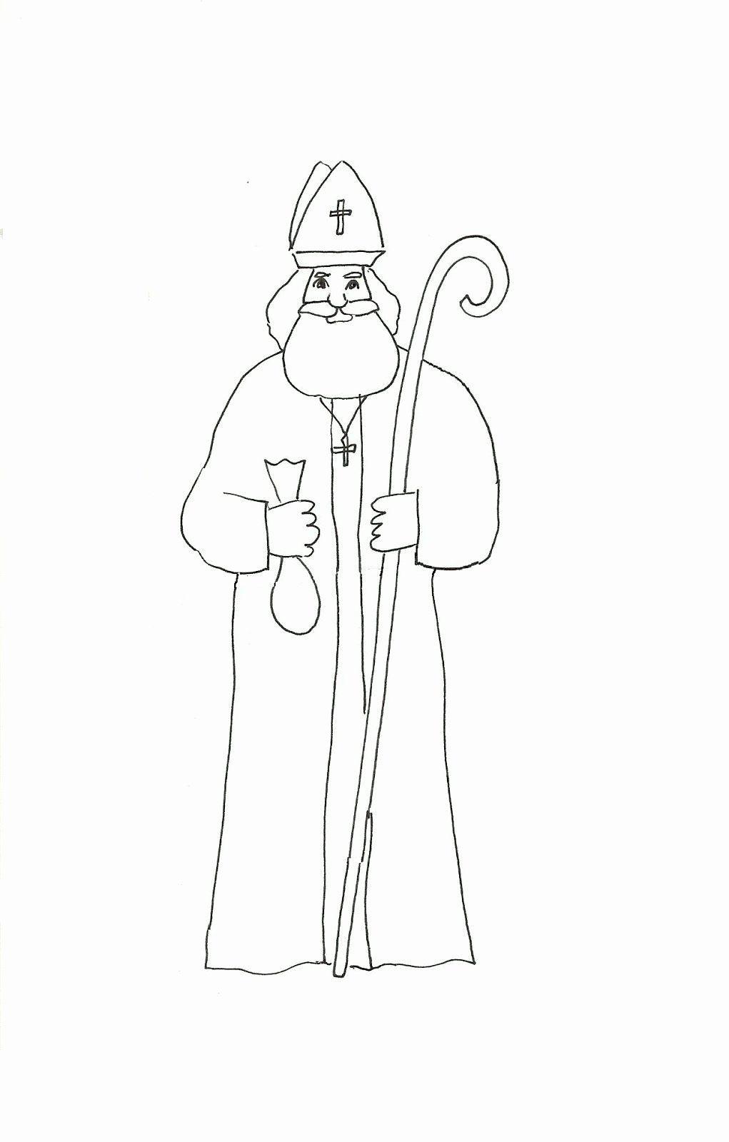 St Nicholas Coloring Page Best Of Saint Nicholas Coloring Page Coloring Home In 2020 Coloring Pages Flag Coloring Pages Creation Coloring Pages