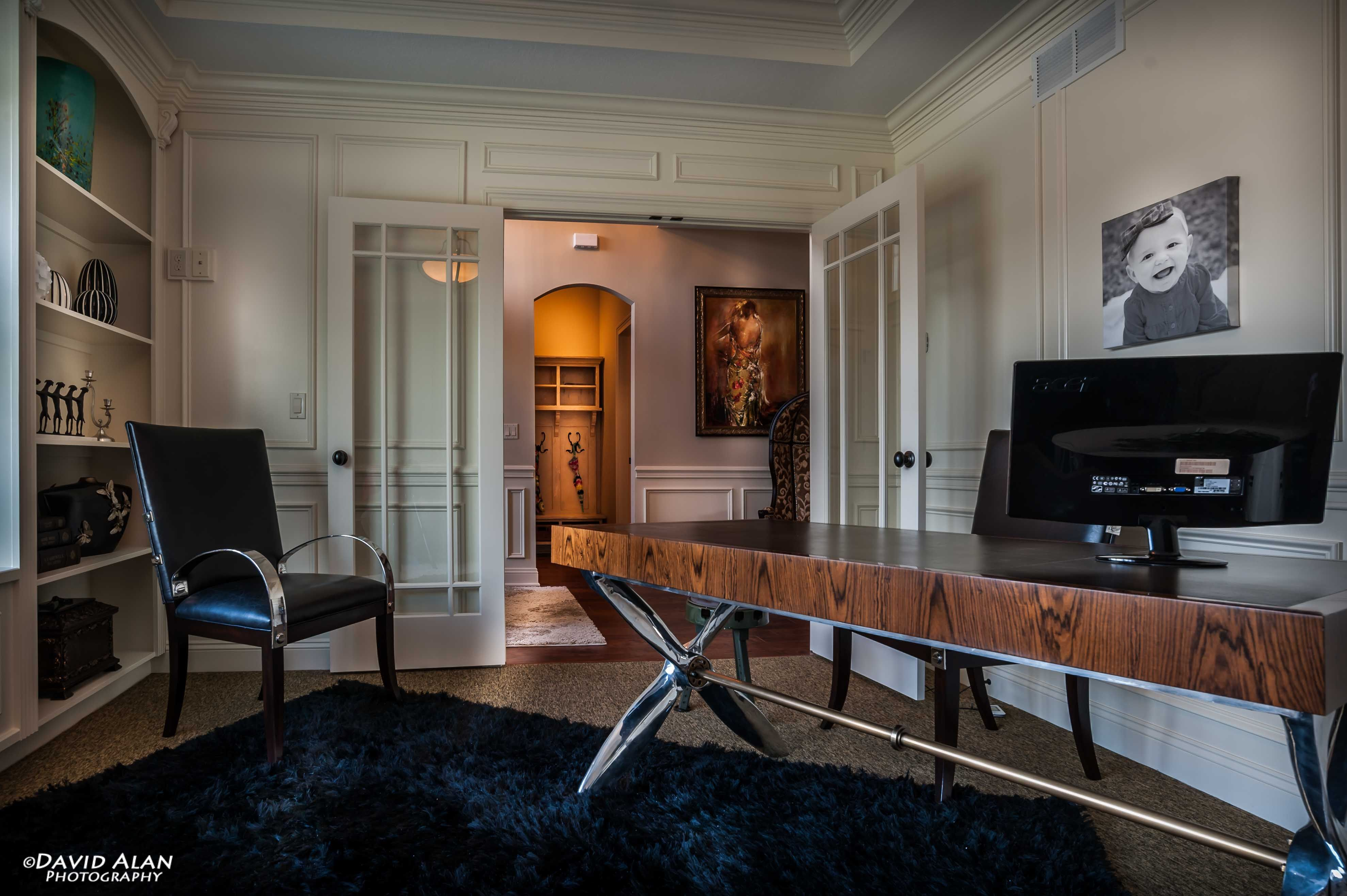 Home Office built, designed and furnished by Perrino ...