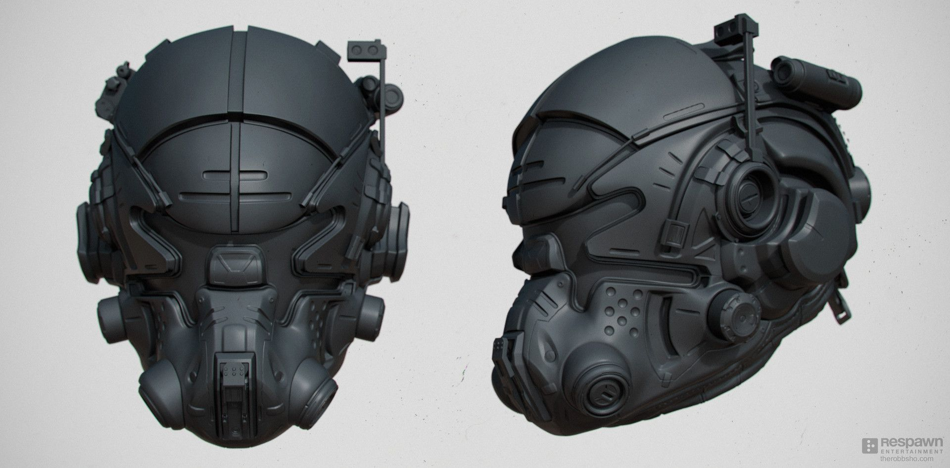 the high poly design/baking mesh for the principal ...