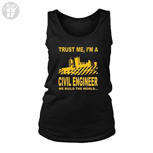 848dea91ed14bc Civil Engineer Tank Top T-Shirt. Funny Civil Engineer Tank. Cool Shirt for