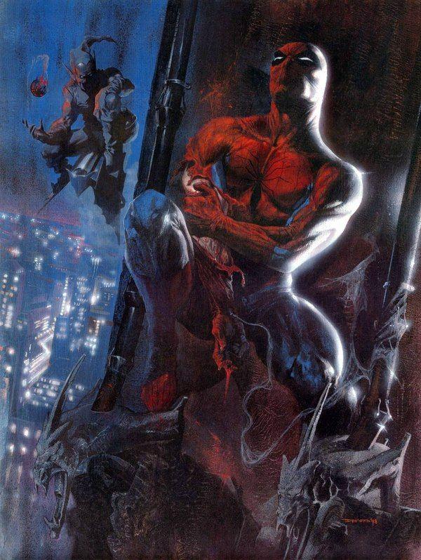 Ваш дружелюбный сосед, Человек-паук!   Иллюстрации ...