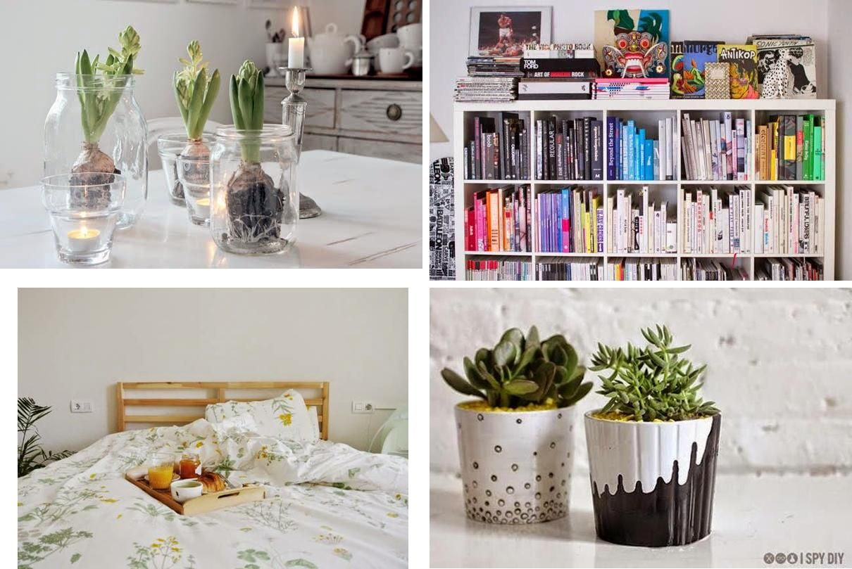 13 ideas para decorar tu casa sin gastar dinero for Decoracion del hogar facil
