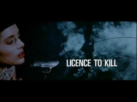 License to Kill. Maurice Binder's last Bond sequence. Its definitely in the top 3 as my favorite Bond sequence.